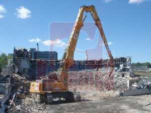 Demolición Ciudad Deportiva Real Madrid