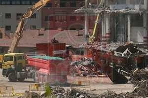 Demolición Fábrica de Mahou