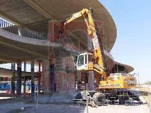 Demolición Pabellón Expo Zaragoza